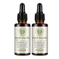 LanSIyI 2Pcs Hair ReGrowth Serum Hair Care Essential Oil Treatment for Sof R8S0