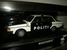 1:18 Minichamps Volvo 240 GL Politi Norway 2 1986 Limited Nr. 155171496 in OVP