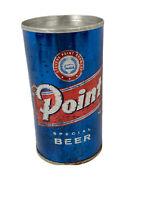Early Stevens Point Brewery Point Special Beer Flat Top Slit Top Beer Can 12 oz