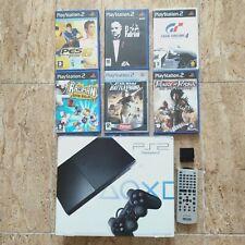 Consola Slim Playstation 2 Ps2 En Caja Pal España SCPH-90004 Star Wars