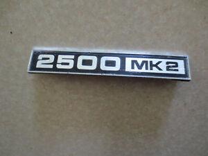 Original Triumph 2500 Mk2 car badge