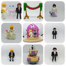 PEPYPLAYS PLAYMOBIL NOVIOS BODA BRIDE GROOM WEDDING ELIGE LOTE NOVIA