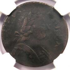 1787 Georgivs Machin's Mills Halfpenny Coin 1/2P - Certified NGC VF Details!