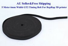 AU 5M 6mm Width GT2 Timing Belt For RepRap 3D printer Prusa Prusa CNC