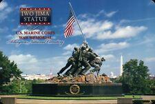 Iwo Jima Statue US Marine Corps War Mem., Arlington Cemetery - Military Postcard