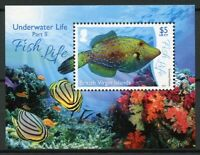 British Virgin Islands BVI Fish Stamps 2017 MNH Underwater Life Pt 2 1v M/S