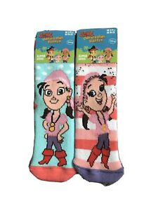3x1 Pair Girls Sofia The First Slipper Socks Sizes 6-8.5 9-12 12.5-3.5