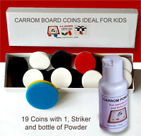 2 Large Strikers Set for Large Boards Please Read Note Carrom Board Coins