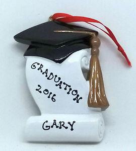 Personalised Decorations/Ornaments - Graduation