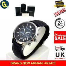 Emporio ARMANI Renato Leather Chronograph Mens Watch AR2473