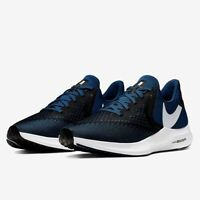 Nike Zoom Winflo 6 Men's Athletic Performance Sneaker Running Gym Shoes Blue