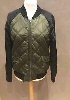 Khaki And Black Ashley Summer Jacket Coat - Size M Medium - Brand New