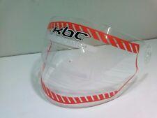 visière  incolore anti rayure   pour casque jet   KBC OFS : SHIELD / SOLID