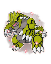 Ultra Pokemon Sun and Moon Shiny Groudon Event 6IV-EV Trained