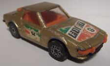 CORGI JUNIORS FIAT X-19 (GOLD) LOOSE (VINTAGE)