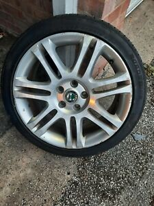 """Set of 4 Skoda superb alloy wheels 18"""" with tyres. Also fit some audi , VW etc."""