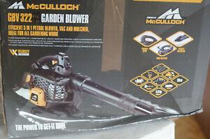 McCulloch GBV322VX Benzin Laubbläser (00096-78.653.01)
