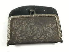 Antique Chas D. Carter Dry Goods Lawrenceville Illinois Advertising Change Purse
