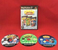 Crash Bandicoot Action Pack (No Manual) - PLAYSTATION 2 PS2 - PAL - Tested