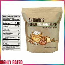 WHEAT GLUTEN Vital High Protein Vegan Non GMO Keto Friendly Low Carb ANTHONY'S