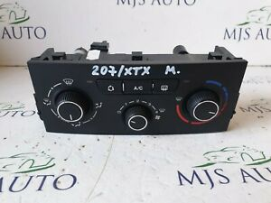 PEUGEOT 207 2009-2012 HEATER CLIMATE CONTROL PANEL