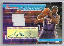 Amare Stoudemire Suns 2004-05 Bowman Auto Autograph Game Worn Jersey 45/60
