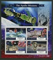MALDIVES  2015 THE APOLLO MISSIONS SHEET MINT NEVER HINGED