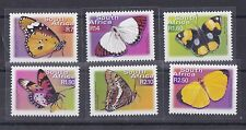 Sud Africa South Africa 2001 Farfalle serie corrente 1169-74 MNH