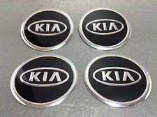 Autocollant Sticker Centre de Roue Cache Moyeu Jante Alu pour KIA 4 x 60mm