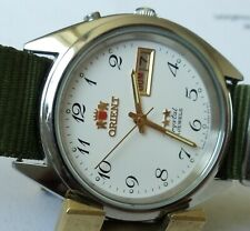 Orient 17J automatic  mans watch  working ....