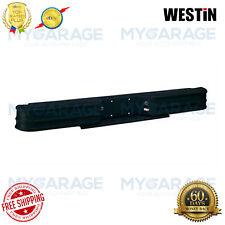 Westin For E-150,E250 Fey Diamond Rear Bumper Black Powder Coated Steel 20107