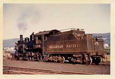 7D400P RP 1959 CANADIAN PACIFIC RAILROAD ENGINE #136 NORTON NB