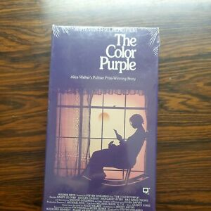 The Color Purple Whoopi Goldberg New/Sealed VHS Fast Shipping