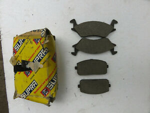 Toyota Starlet KP 60, 61, 62 1.0, 1.3 New Old Stock Front Brake pads