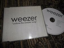 WEEZER UNDONE-THE SWEATER SONG/MYKEL&CARLI/SUSANNE/HOLIDAY CD EP 1994 GERMANY