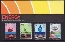 GB: QEII :1978 Energy :Royal Mail - Presentation Pack 99