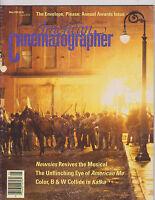 MAY 1992 - AMERICAN CINEMATOGRAPHER movie magazine KAFKA - AMERICAN ME