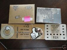 2001 R.E.M. REM Xmas Christmas Fan Club Single CD Complete Record Everything!