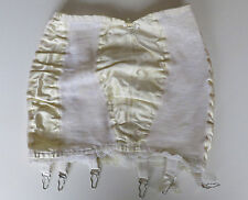 CUTE  open bottom girdle  w shinny front, side and back panels