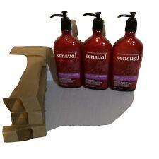 3 Bath Body Works Aromatherapy Sensual Black Currant Vanilla Body Hand Lotion