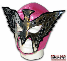 LUCHADORA PRINCESS BUTTERFLY PINK MEXICAN LUCHA ADULT WRESTLING MASK