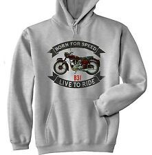 BSA B31 - GREY HOODIE - ALL SIZES IN STOCK