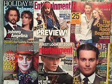 Johnny Depp Covers 2004-2011 Entertainment Weekly Issues Lot of 6 Capt Sparrow