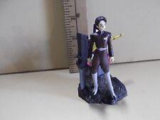 "#A897 Unknown Anime 3""in Gundam Diorama of Robot & Black Hair Figure"