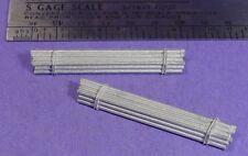 S SCALE Sn3 1/64 WISEMAN MODEL SERVICES DETAIL PARTS: S371 PLUMBING PIPE BUNDLES