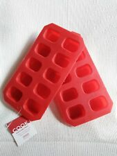Two New Flexible Ice Cube Trays