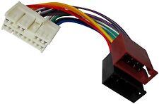 Adaptador cable enchufe ISO para autoradio de Hyundai Accent Atos Coupe Elantra