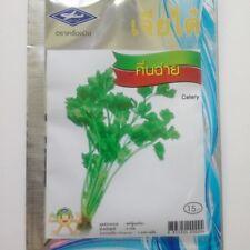 7500 Seeds Celery Thai Vegetable Seeds Plant Chia Tai