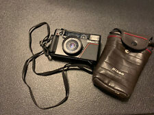 Nikon L35AF 35mm Point and Shoot Film Camera. Tested.