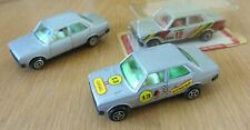 GUISVAL SEAT 131 X3, RALLY#12 ESSO SEALED, RALLY#13 DUNLOP EXCELLENT, + SILVER